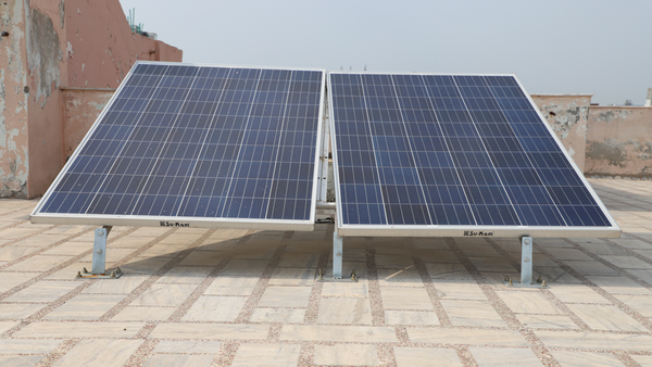 rooftop solar panel installation in delhi ncr, india