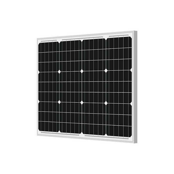 50 watt monocrystalline solar panel