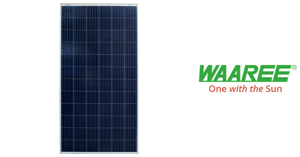 3kW waaree solar panel price in india