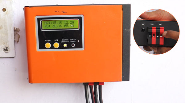 use of solar charge controller