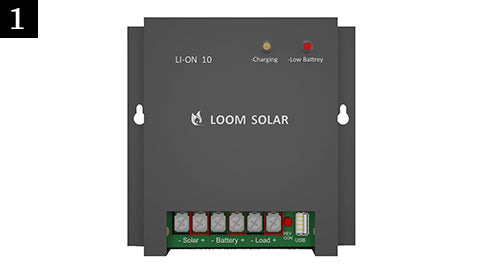 Loom Solar Charge Controller 10 Amp
