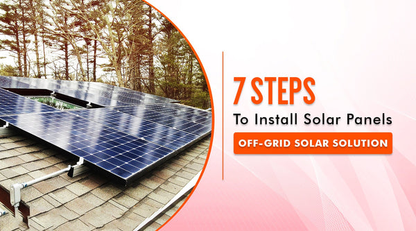 how to install solar panel for home
