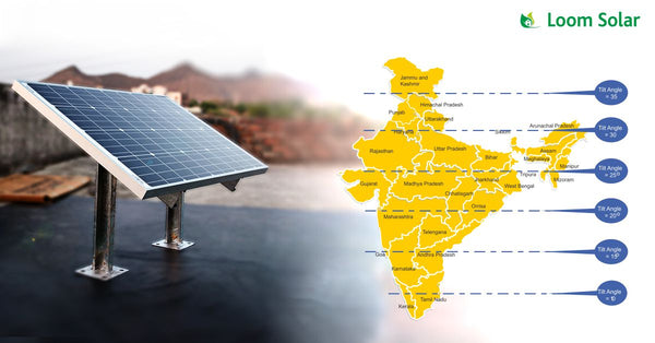Calculation of Solar Panel Spacing for India