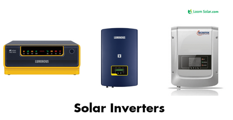solar inverters at loomsolar