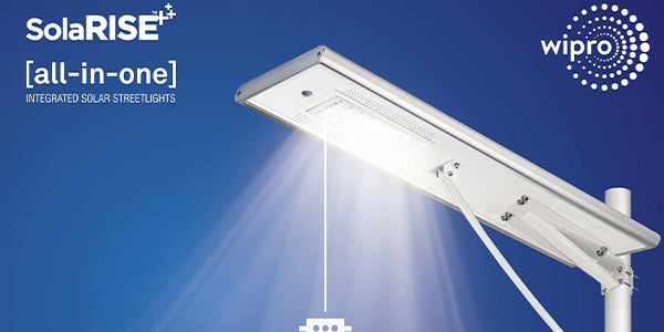 wipro solar street light