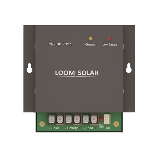 Loom - Solar charge controller - 20 amp, 12-24V