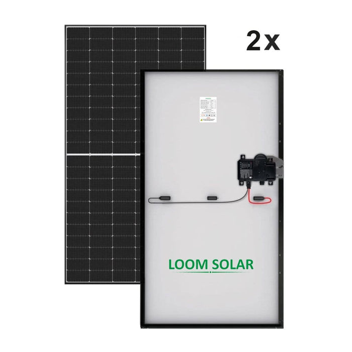 Loom Solar 1 kw grid connected Solar AC Module