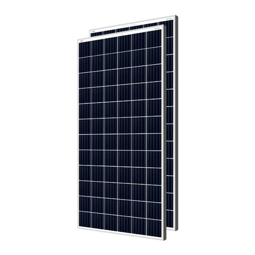 Loom solar panel 320 watt - 24 volt multi crystalline (pack of 2)