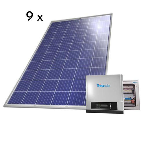 Trina Home 3 kW on grid solar system