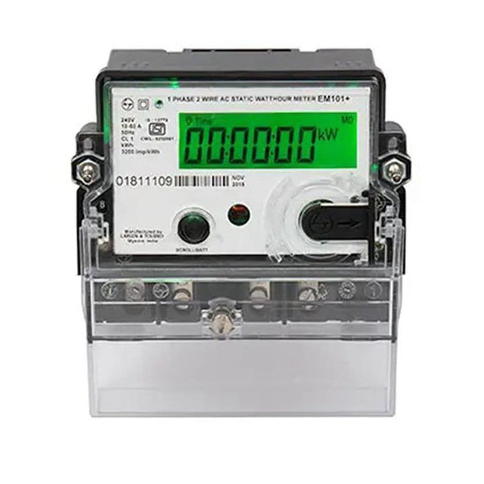 L&T Single Phase Net Meter for 1-3kW Grid Connected Solar System
