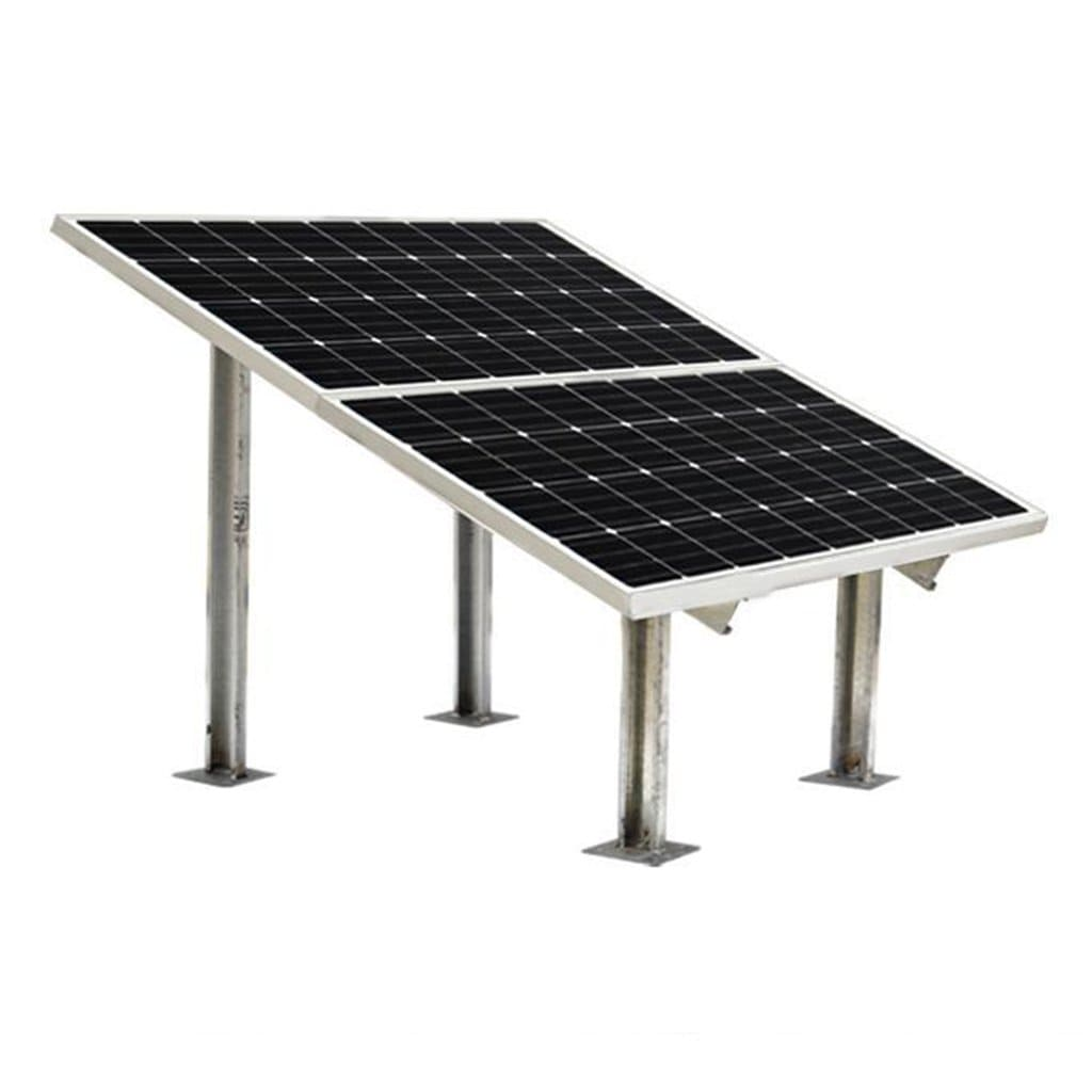 Loom Solar 2 Panel Stand (190 watts)