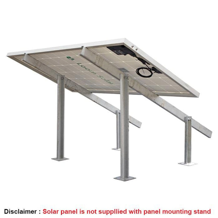 Loom Solar 2 Panel Stand (440 watts)