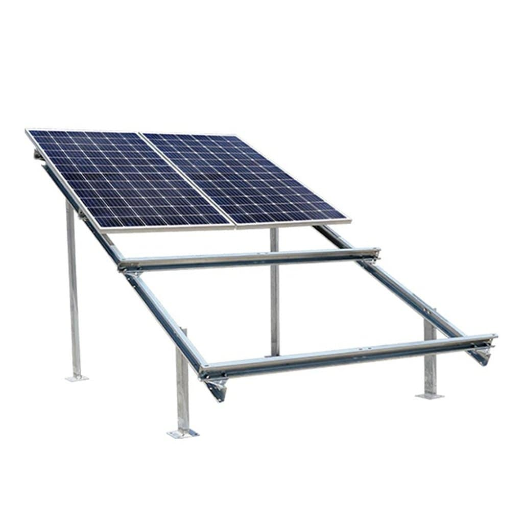 Loom Solar 2 row Design 4 Panel Stand 375 watt