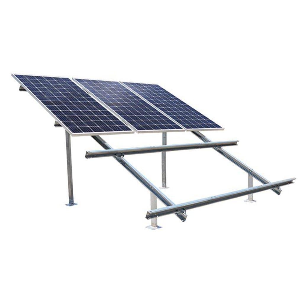 Loom Solar 2 row Design 6 Panel Stand 375 watt