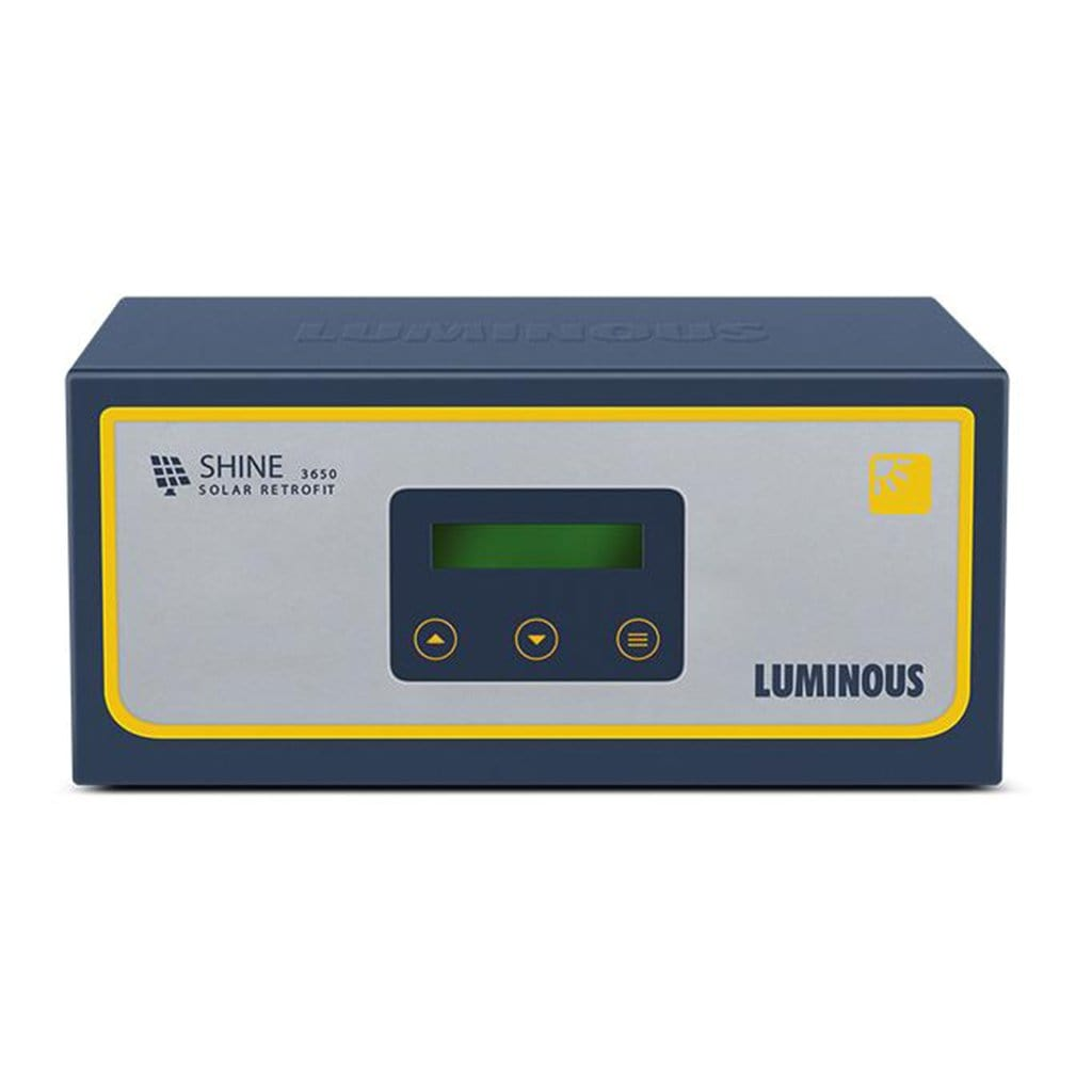 Luminous shine 3650 solar conversion kit 50 amps, 24V / 36 volt charge controller