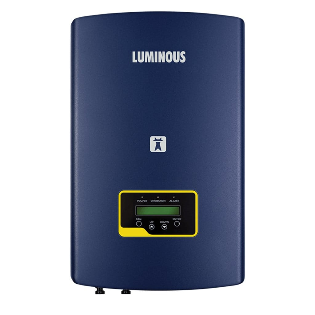Luminous solar nxi 15 kw on grid solar inverter