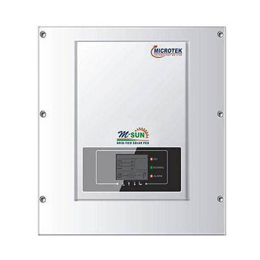 Microtek on grid solar inverter msun 11 kw - Loom Solar
