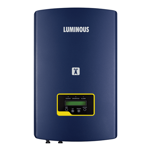 Luminous nxi 1 kw on grid solar inverter - Loom Solar