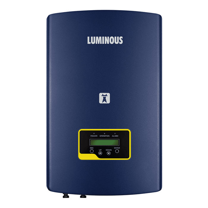 Luminous solar nxi 50 kw on grid solar inverter - Loom Solar