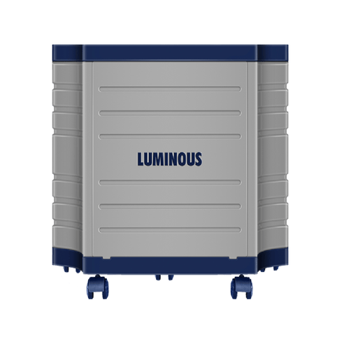 Luminous single battery trolley for ups-inverters, battery