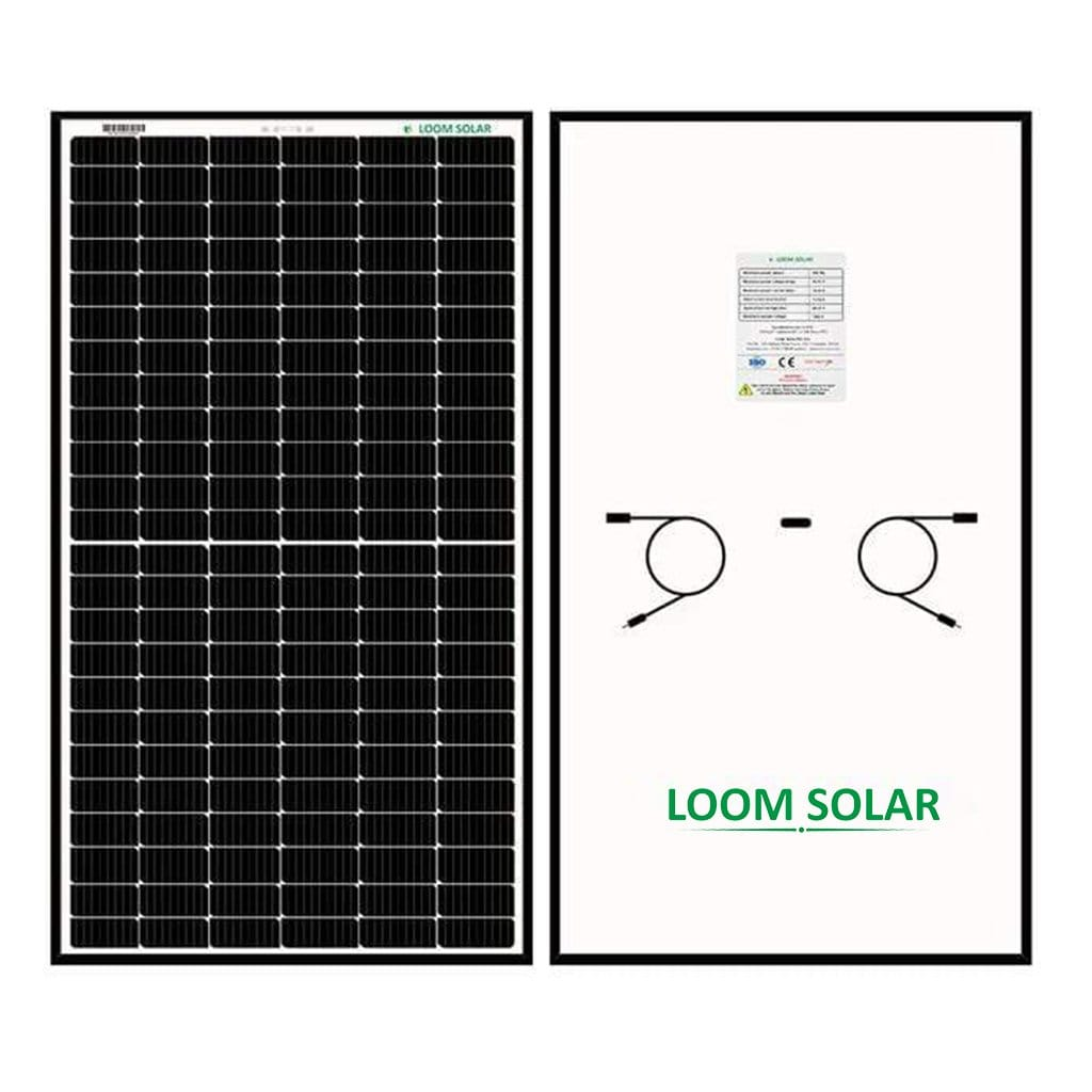 Loom Solar Panel - Shark 440 - Mono Perc, 144 Cells, Half Cut