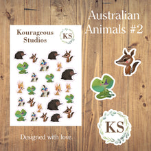 Australian Animal Stickers