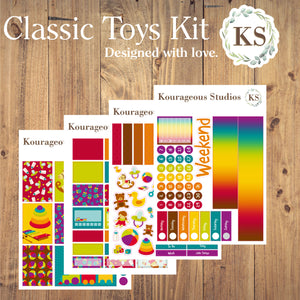Classic Toys Sticker Kit