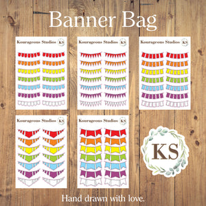 Banner Stickers Bag