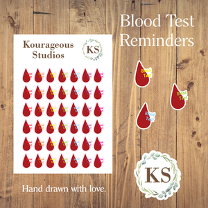 Blood Test Icons