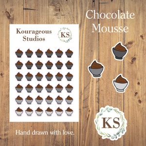 Chocolate Mousse Icons