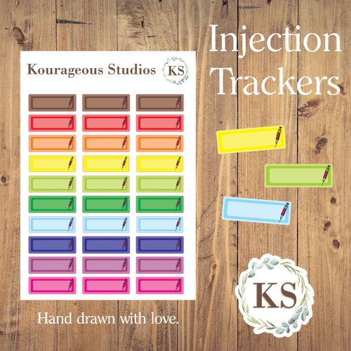 Injection Trackers