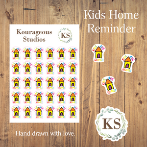 Kids Are Home Icons