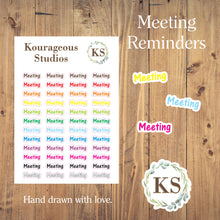 Meeting Stickers
