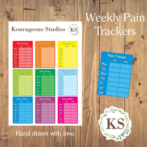 Weekly Pain Trackers