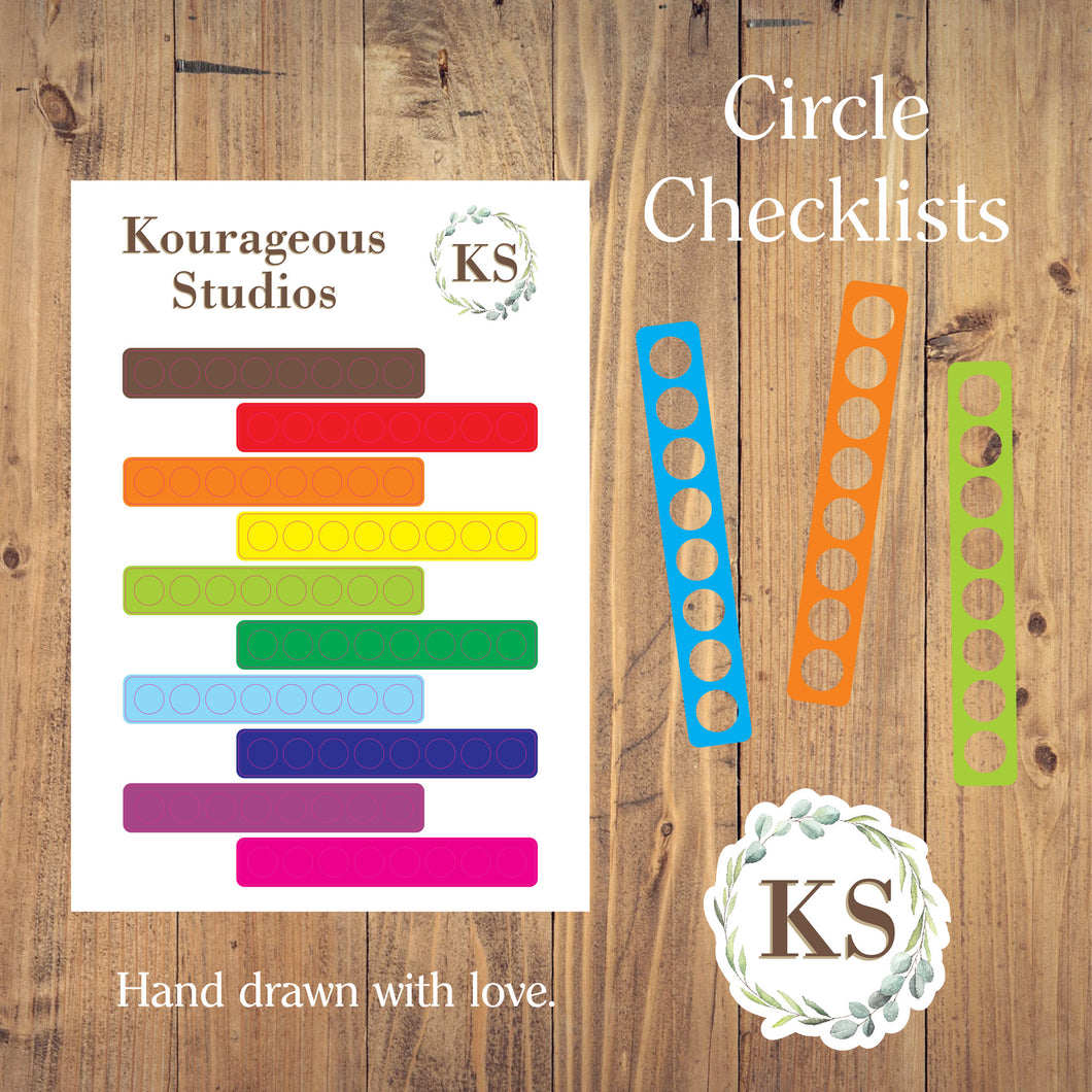 Circle Checklists