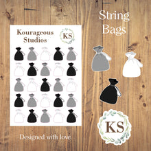 String Bag Icons