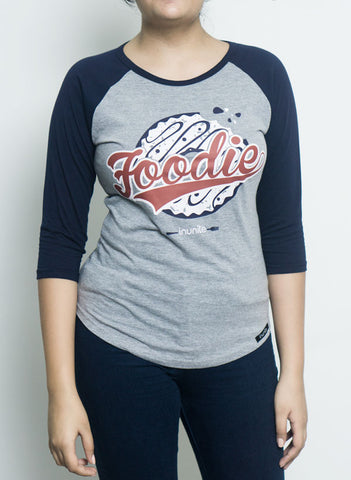 Foodie | 3/4th Sleeves | Raglan | Women
