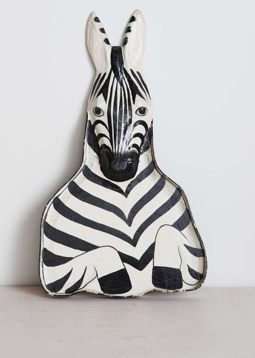 This is a shop, mask, zebra, unique, interior, India