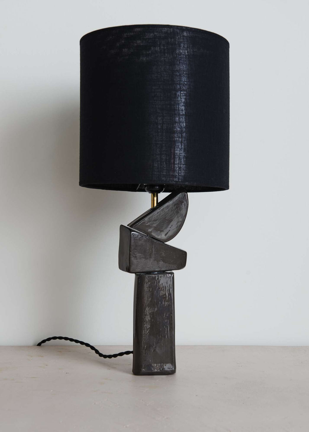 Ceremic lamp by Merce Wouthuysen