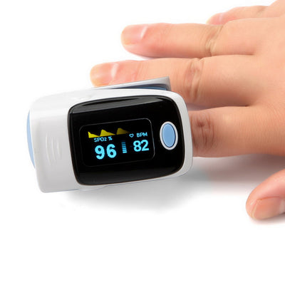 Fingertip Pulse Oximeter With OLED Display