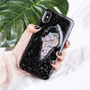 Ice Cream Sprinkle Glitter Case for iPhone X