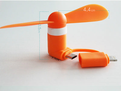 Mini Micro USB Fan For Smartphone