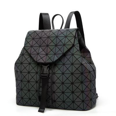 Holographic Iridescent Women Backpacks