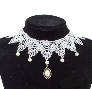 Victorian Lace Chokers - Several Models