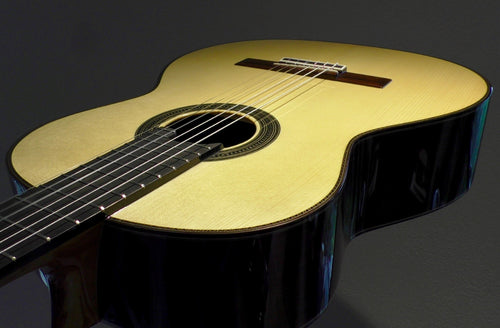 Amalio Burguet 1A Spruce Top Classical Guitar - Dulcet Guitars