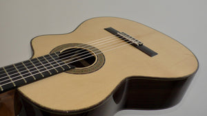 Amalio Burguet 2M Spruce Top cutaway/630mm Scale/50mm nut Crossover Guitar