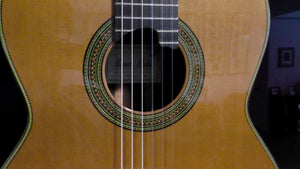Francisco Esteve -  Manual Adalid Cedar Top Classical Guitar - Dulcet Guitars