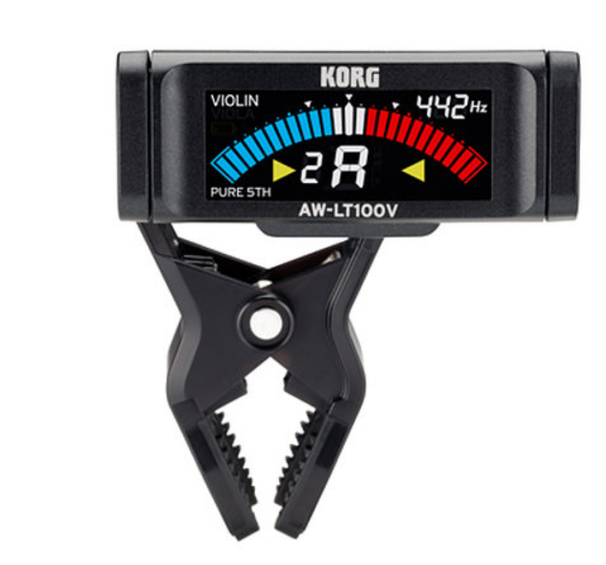 Korg AW-LT100G Clip-On Guitar Tuner - Dulcet Guitars