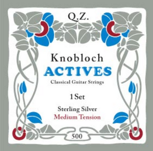 Knobloch Actives CX Carbon Pure Sterling Silver MT 500KAS, Full Set