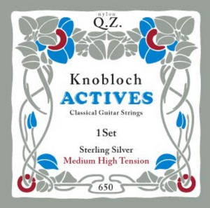 Knobloch Actives CX Carbon Pure Sterling Silver MHT 650KAS, Full Set - Dulcet Guitars